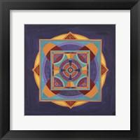 Framed Centered Mandala