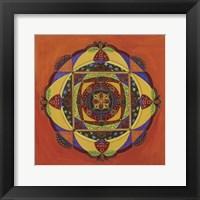 Framed Compassion Mandala