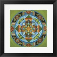 Framed Next Year Mandala