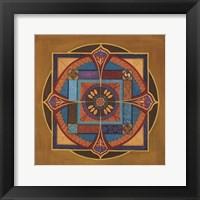 Framed Time Mandala