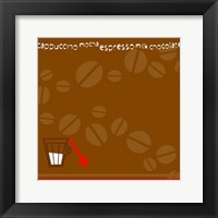 Framed Coffee Beans