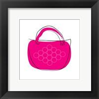 Framed Pink Purse