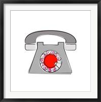 Framed Telephone 1