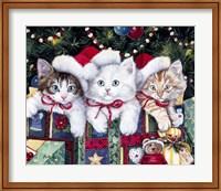 Framed Meowy Christmas