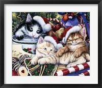 Framed Meowy Christmas 2