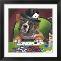 Framed Poker Dogs 2