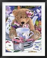 Framed Tea Party Bear 1