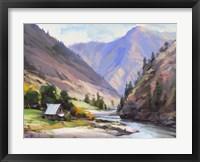 Framed Along The Salmon River