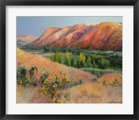 Framed Indian Hill