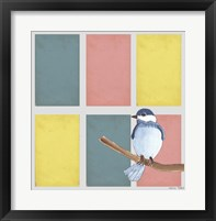 Framed Rectangles And Blue Bird