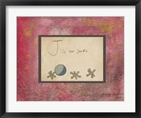 Framed J is For Jacks
