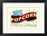 Framed Popcorn Freshf