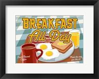 Framed Breakfast All Day