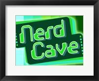 Framed Nerd Cave 8 Bit