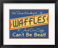 Framed Waffles Can't Be Beat