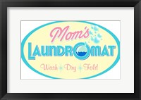 Framed Mom's Laundromat