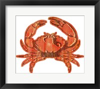 Framed Crab Wood Cut Out