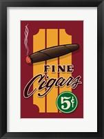Framed Fine Cigars