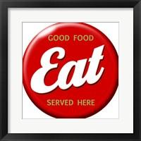 Framed EAT Button