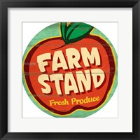 Framed Farm Stand Round