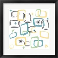 Framed Retro Squares 1