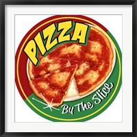 Framed Pizza By Slice Round