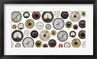 Framed Gauges Meters Switches