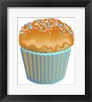 Framed Pumpkin Cupcake