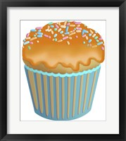 Framed Pumpkin Cupcake