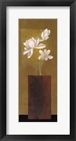 Ivory Floral I Framed Print