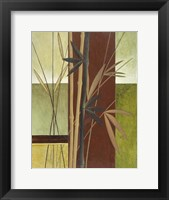 Framed Bamboo Study I