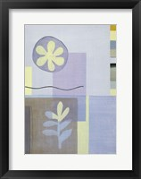 Blue Green Abstract 2 Framed Print