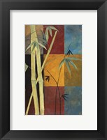 Framed Bamboo Abstract 1