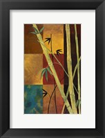Framed Bamboo Abstract 2