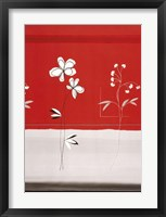 Red Abstract 6 Framed Print