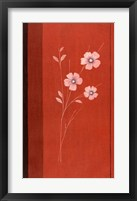 Red Abstract 4 Framed Print