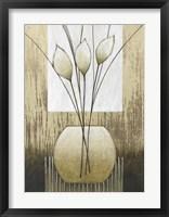 Taupe I Framed Print