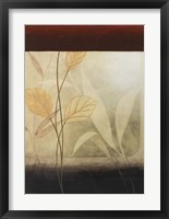 Leaf Collage II Framed Print