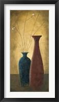 Framed Two Vases II
