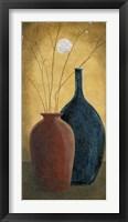 Framed Two Vases I