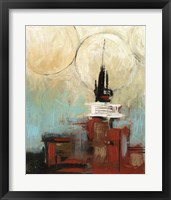 Tower In The City II Framed Print