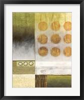 Shades of Green II Framed Print