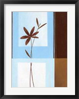 Brown Flower II Framed Print