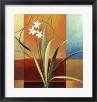 Framed Narrow Palm On Patches