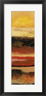 Sunset I Framed Print