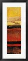 Sunset III Framed Print