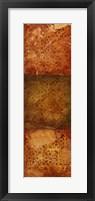 Paisley Panel IV Framed Print