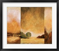Country Abstract I Framed Print
