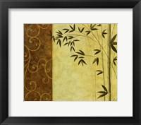 Framed Bamboo Elegance II