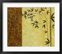 Bamboo Elegance II Framed Print